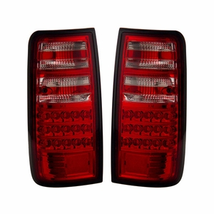 Toyota Land Crusier FJ82 91-97 L.E.D Tail Light Red / Clear - Click to enlarge