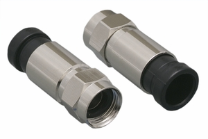 F-Type RG60 Compression Waterproof Connector - Click to enlarge