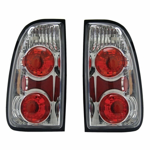 Toyota Tundra 00-04 Tail Light Chrome - Click to enlarge