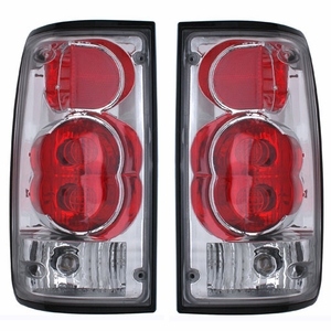 Toyota Pickup 89-95 Tail Light G2 Chrome - Click to enlarge