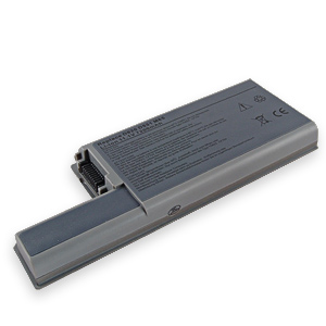 6 Cell 5200 mAh Laptop Battery for DELL Latitude D531, D531N, D820, D830, Precision M65, M4300 - Click to enlarge