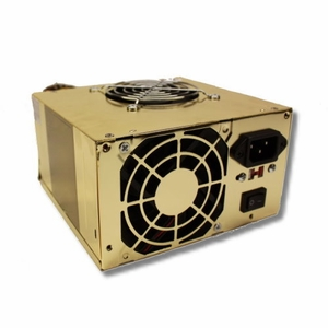 Brand New 680 Watt Dual Fan ATX Gold Power Supply for Pentium 4 AMD VISTA SATA  - Click to enlarge