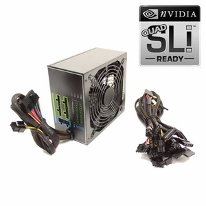 1075 Watt 140mm Fan Modular ATX Power Supply 12V 2.3 EPS12V PCI-E Quad SLI Ready SATA 20/24 PIN by KenTek - Click to enlarge