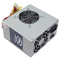 600 Watt Dual Fan ATX Power Supply for Pentium 4 AMD VISTA SATA  - Click to enlarge
