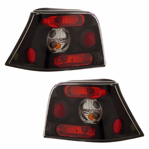 Volkswagen Golf 99-01 Tail Light Black - Click to enlarge