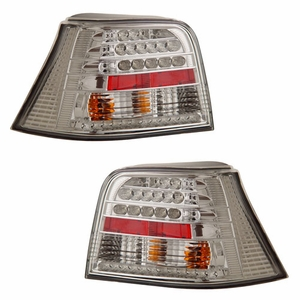 Volkswagen Golf 99-01 L.E.D Tail Light Chrome - Click to enlarge