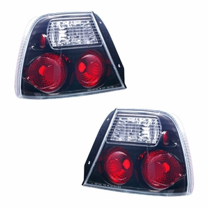 Hyundai Accent 00-02 2DR Tail Light Black - Click to enlarge