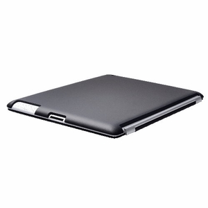 Black iPad 2 iPad 3 (The New iPad) Slim fit Case cover for Apple iPad 2nd 3rd Generation Wifi / 3G / 4G Model 16GB / 32GB / 64GB Smart cover compatible partner & color matching - Sticky Case by Techgiant - Click to enlarge