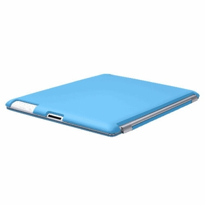Blue iPad 2 iPad 3 (The New iPad) Slim fit Case cover for Apple iPad 2nd 3rd Generation Wifi / 3G / 4G Model 16GB / 32GB / 64GB Smart cover compatible partner & color matching - Sticky Case by Techgiant  - Click to enlarge