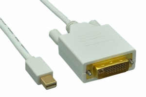 3 Feet 32 AWG Mini Display Port to DVI Cable - Click to enlarge