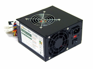 550W Black Dual Fan Switching Power Supply - Click to enlarge