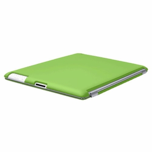 Green iPad 2 iPad 3 (The New iPad) Slim fit Case cover for Apple iPad 2nd 3rd Generation Wifi / 3G / 4G Model 16GB / 32GB / 64GB Smart cover compatible partner & color matching - Sticky Case by Techgiant  - Click to enlarge