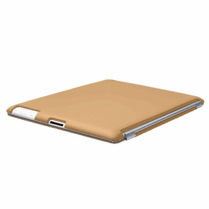 Brown iPad 2 iPad 3 (The New iPad) Slim fit Case cover for Apple iPad 2nd 3rd Generation Wifi / 3G / 4G Model 16GB / 32GB / 64GB Smart cover compatible partner & color matching - Sticky Case by Techgiant  - Click to enlarge