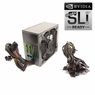 1075 Watt 140mm Fan Modular ATX Power Supply 12V 2.3 EPS12V PCI-E Quad SLI Ready SATA 20/24 PIN by KenTek