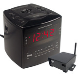 SluethGear Covert Digital Cube Alarm Clock w/ IP Reciever