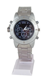 Chronograph Wrist Watch Media Player