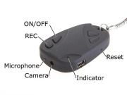 KC-640SD - Keychain DVR