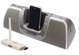 SleuthGear Covert Digital iPod Dock Camera with USB Receiver with remote view