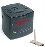 SluethGear Covert Digital Cube Alarm Clock w/ USB Reciever w/ Remote View
