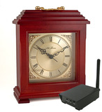 SluethGear Covert Digital Wireless Mantle Clock w/ RCA Receiver
