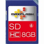 8GB Standard SD Card