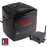 SleuthGear Night Owl Digital Alarm Clock with IP Receiver