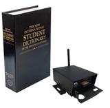 SleuthGear Covert Book Camera with IP Receiver