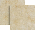 "Happy Floors Pietra Nobile Almond 17"" x 17"" Semi-Polished"