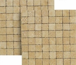 "Happy Floors Pietra Nobile Oro Mosaic 2"" x 2"" Matte"