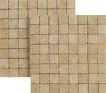 "Happy Floors Pietra Nobile Noce Mosaic 2"" x 2"" Matte"