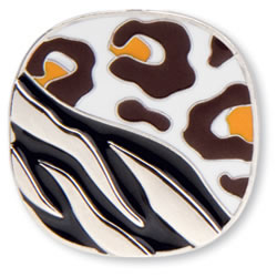 Animal Print Key Finder from Finders Key Purse Collection