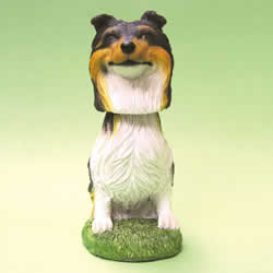 Collie Bobblehead Dog by Swibco