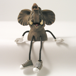 Critter Sitter Elephant by Swibco