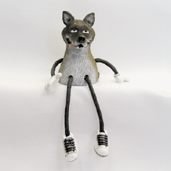 Critter Sitter Wolf by Swibco