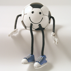 Critter Sitter Soccer Ball by Swibco