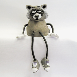 Critter Sitter Raccoon by Swibco