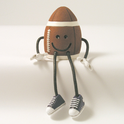 Critter Sitter Football by Swibco