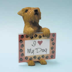 Airedale Terrier Dog Photo Frame by Swibco