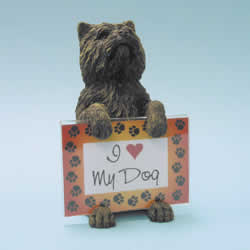 Cairn Terrier Dog Photo Frame by Swibco
