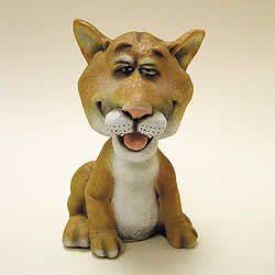 Cougar Bobblehead Animal by Swibco