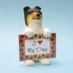 Collie Dog Photo Frame by Swibco