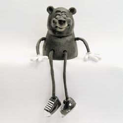 Critter Sitter Black Bear by Swibco