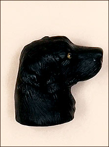Black Lab Antenna Topper