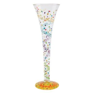 Congratulations Champagne Glass by Lolita