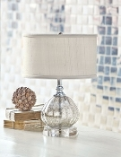 Mercury Glass Clove Lamp