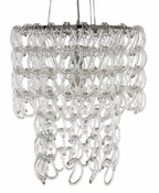 Glass Lace Chandelier