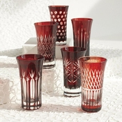 Etched Glass Liquor Glass - Set of 6 - Save 10%