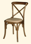 Bentwood Bistro Chair Upholstered Seat
