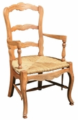 Country French Dining Chair - Arm