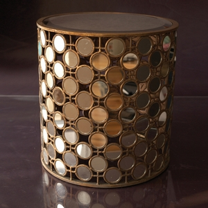 Thousand Mirrors End Table